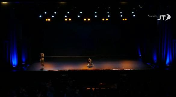 U14 Hip Hop Duet (silver medal world championships)
