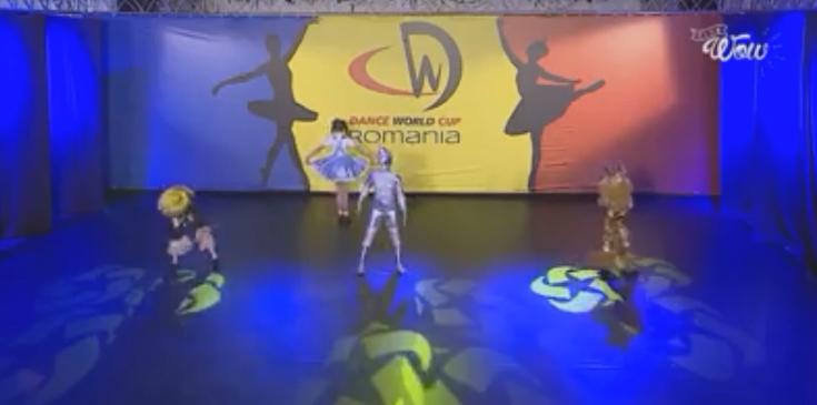U14 Song & Dance Quartet (world title winners)